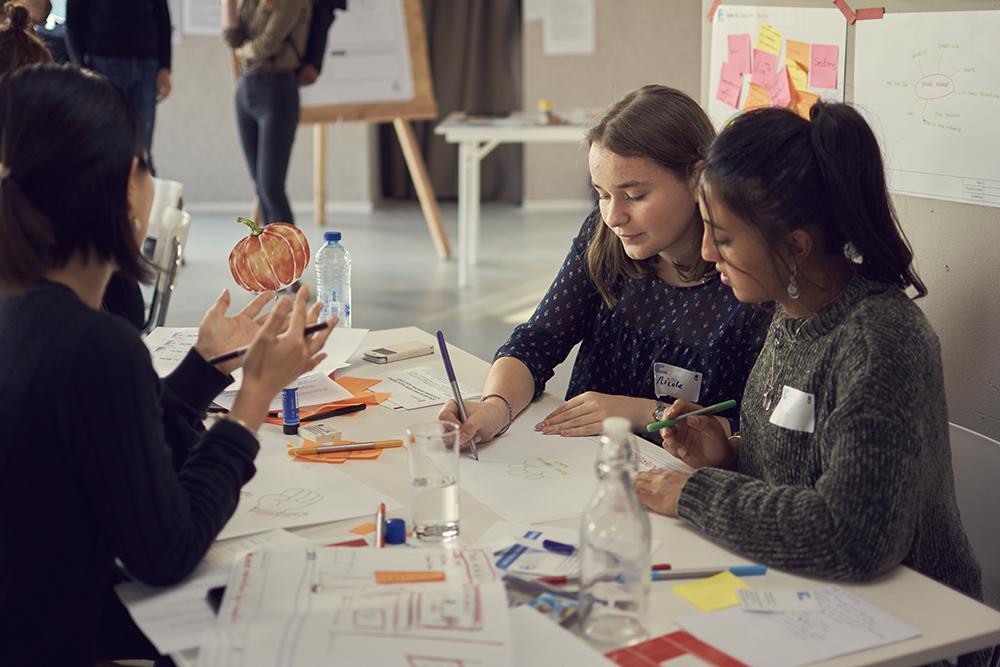 Teamwork at Designing Democracy hackathon